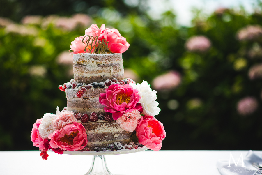 Naked Cake - Choosing your wedding cake - Italian Wedding Designer