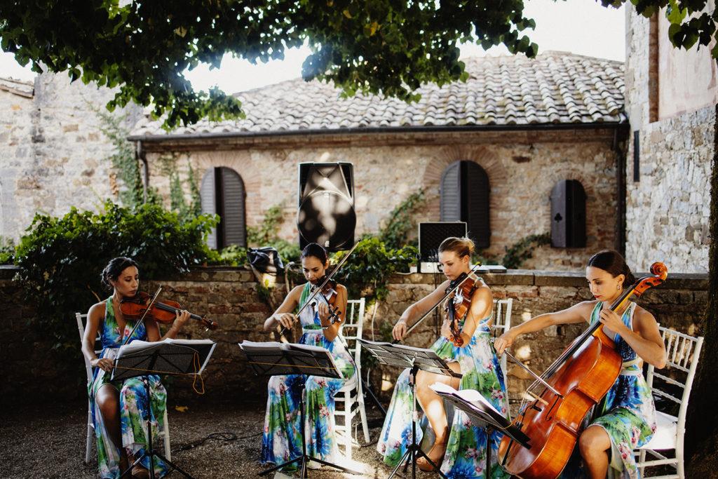String quartet - Italian Wedding Designer - Wedding Music